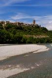 Ainsa Pyrennes, Huesca, Espagne Photo stock