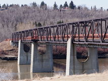 Ainsworth Dyer Bridge In Edmonton Alberta Stock Photos