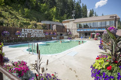 Ainsworth Hot Springs Resort Stock Photography
