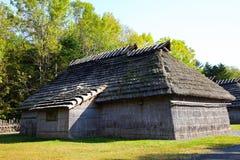 Ainu Dorf in Hokkaido, Japan Lizenzfreies Stockbild