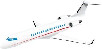 Aiplane passanger jet Royalty Free Stock Photos