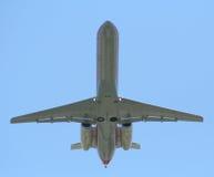 Aiplane at takeoff Stock Photo