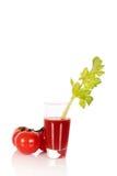 Aipo do suco de tomate Imagem de Stock Royalty Free