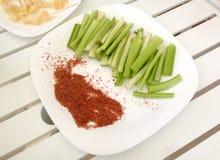 Aipo e pimentão Imagem de Stock