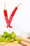 Aipo e pimentão vermelho Foto de Stock Royalty Free