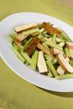 Aipo e tofu da agitação Imagens de Stock Royalty Free