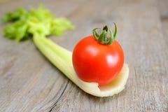 Aipo e tomate Imagem de Stock Royalty Free