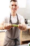Aipo na cozinha Imagem de Stock