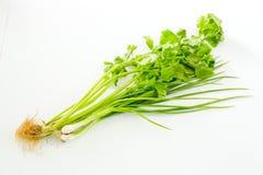 Aipo orgânico (folhas do aipo) Foto de Stock Royalty Free