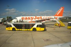 Aiport de Aiport Lisboa - serviço - buse Imagem de Stock