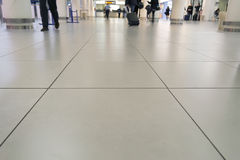 Aiport floor Royalty Free Stock Photography