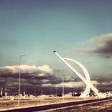 Aiport internacional Iraque de Irbil Foto de Stock Royalty Free