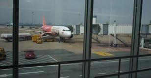 Aiport service i Noi Bai den internationella flygplatsen Hanoi arkivbilder