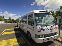 Aiport Transport Bus, Sunshine Coast Royalty Free Stock Photo