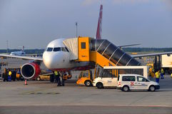 Aiport Vienna service Royalty Free Stock Images