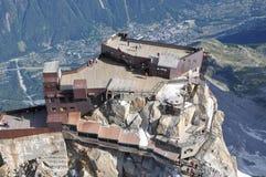 Aiquille du Midi Chamonix Imagem de Stock Royalty Free
