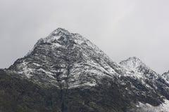 Aiquille nära Gossnitzkopf Royaltyfria Bilder