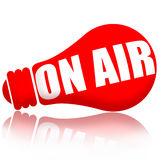 On Air Stock Image