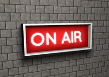 On The Air Royalty Free Stock Images