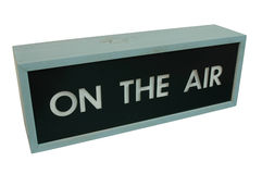 On the air Stock Image