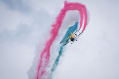 Air acrobacy Royalty Free Stock Photography