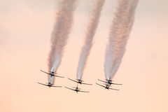 Air acrobacy Stock Photo