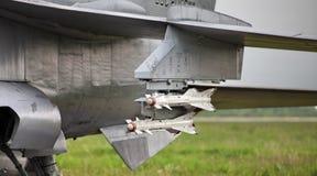 air-air导弹的类型 库存照片