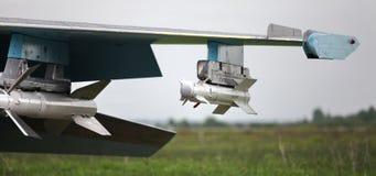 air-air导弹的类型 库存图片