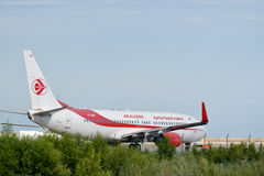 Air Algerie airplane Royalty Free Stock Images