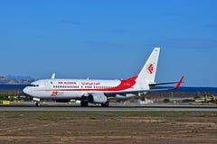 Air Algerie At Alicante Airport Stock Photos