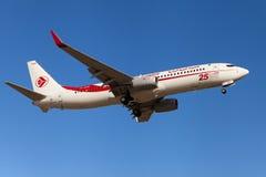 Air Algerie Boeing 737 Imagens de Stock Royalty Free