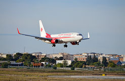 Air Algerie Flight Stock Photography