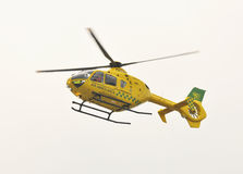 Air Ambulance in flight Stock Photography