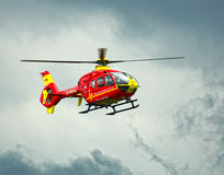 Air Ambulance helicopter Stock Image