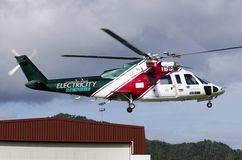 Air Ambulance Retrieval Service Stock Image