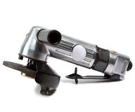 Air angle grinder.Close up Royalty Free Stock Photos