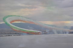 Air arrows tricolor Royalty Free Stock Photo