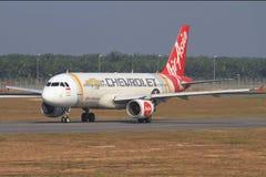 Air Asia Images libres de droits