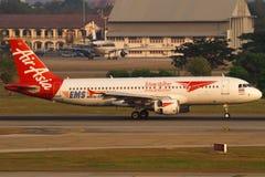 Air Asia Imagens de Stock