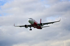 Air Asia a320 Foto de Stock Royalty Free