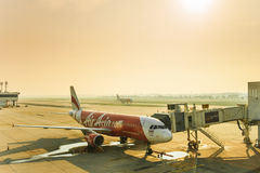 Air Asia Fotografia de Stock Royalty Free