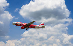 Air Asia Imagem de Stock Royalty Free