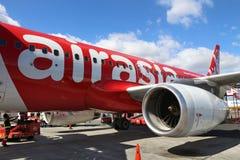 Air Asia Airbus Imagens de Stock Royalty Free