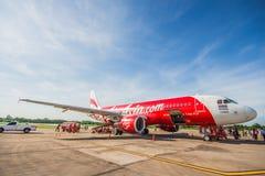 Air Asia Airbus Lizenzfreies Stockbild