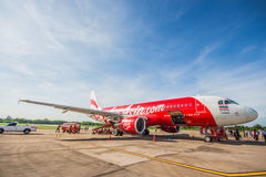 Air asia airbus Royalty Free Stock Image