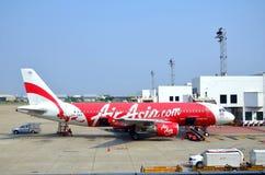 Air Asia aircraft. Stock Photography