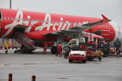 Air Asia, Asia's top low cost airline. Royalty Free Stock Image