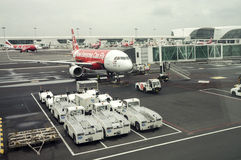 Air Asia Boarding Stock Image