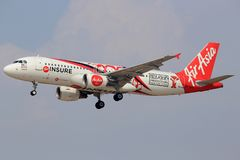 Air Asia insure Royalty Free Stock Photography