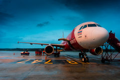 Air Asia tailandese Immagine Stock